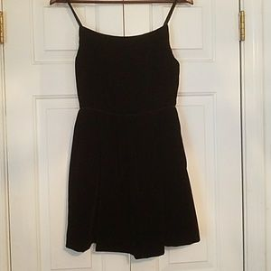 J. Crew pretty velvety little black dress